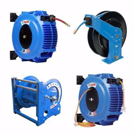 Picture for category Reels - Air & Water, Hose, Electrical, Hydraulics, Ventilation, Cable, Safety Barrier