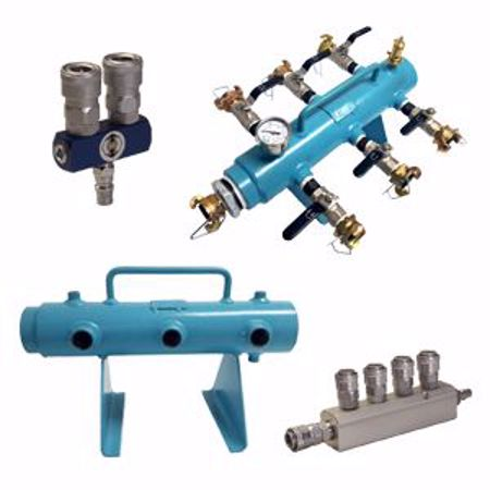 Picture for category Air Distribution Manifolds (Pigs)